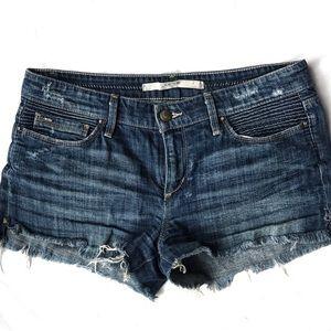 "Joe's Jeans distressed 2"" short (sz 27)"